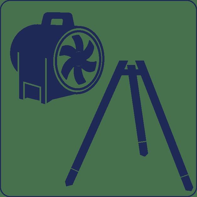 Verhuur icoon blauw klein | R3B Safety & Rescue