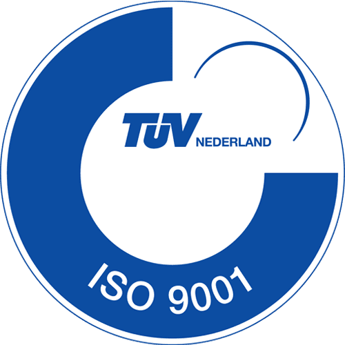 ISO 9001 logo vierkant | R3B Safety & Rescue